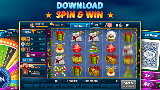 Happy Christmas Slot - Hot Las Vegas Casino 2.20.0 screenshots 4