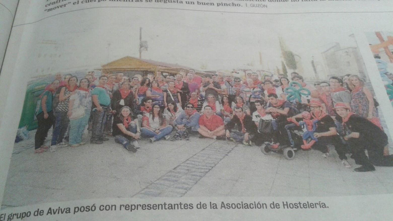 magos de coca-cola en prensa salamanca actuación benéfica 2015
