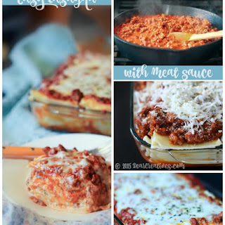 Easy Homemade Lasagna With Meat Sauce