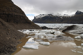 Photo: This is close to the recording place: http://fieldrecording.net/2015/06/01/the-tsunami-on-svinafellsjokull-glacier-lagoon/