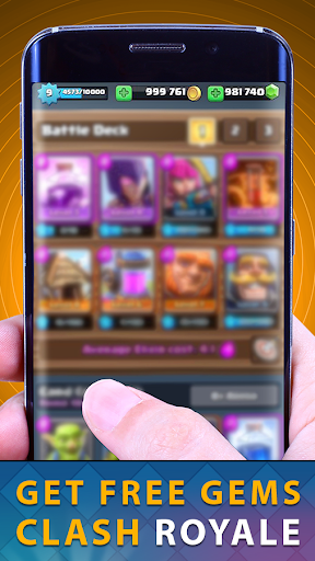 Gems Of Chest Clash Royal Free for PC