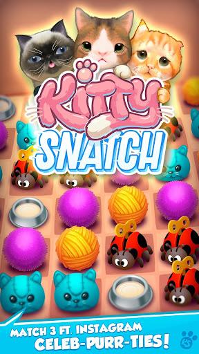 Kitty Snatch - Match 3 ft. Cats of Instagram game 1.0.77 screenshots 1