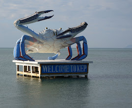 Photo: Crab is king here.