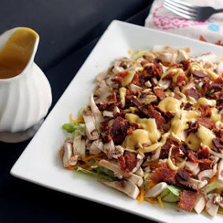 Mushroom Bacon Salad