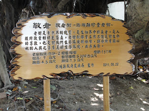 Photo: Check out how 祂 tā 'He' is used on this sign describing a sacred banyan tree