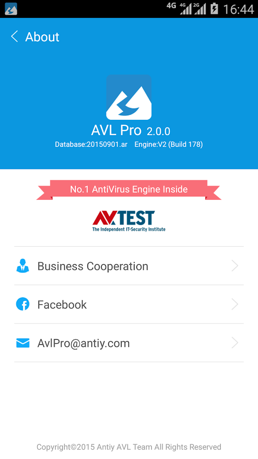 AVL Pro Antivirus & Security- screenshot