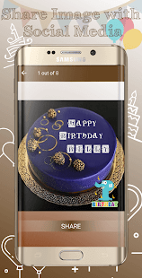 Birthday Cake Photo Editor - náhled