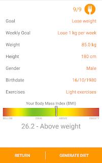 Diet and Fitness - Technutri screenshot 03