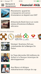 Financial Afrik- screenshot thumbnail