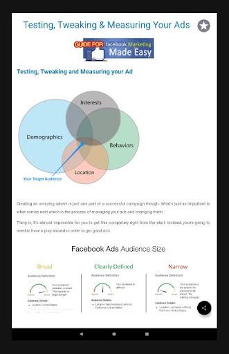 Facebook Marketing Guide 1.0 screenshots 6