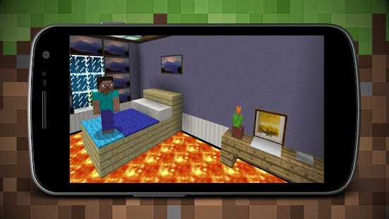 Lava on Floor Map for Minecraft MCPE - náhled