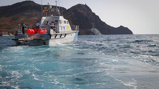 La reserva marina es objeto de una gran vigilancia.