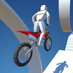 Motocross Stunt Trial Icon