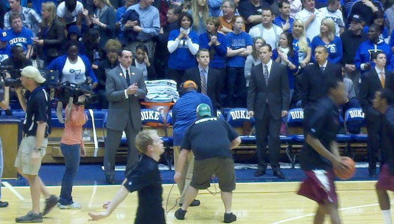 Photo: Duke vs FSU, 1/21/12