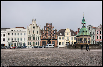 Photo: Marktplatz in Wismar