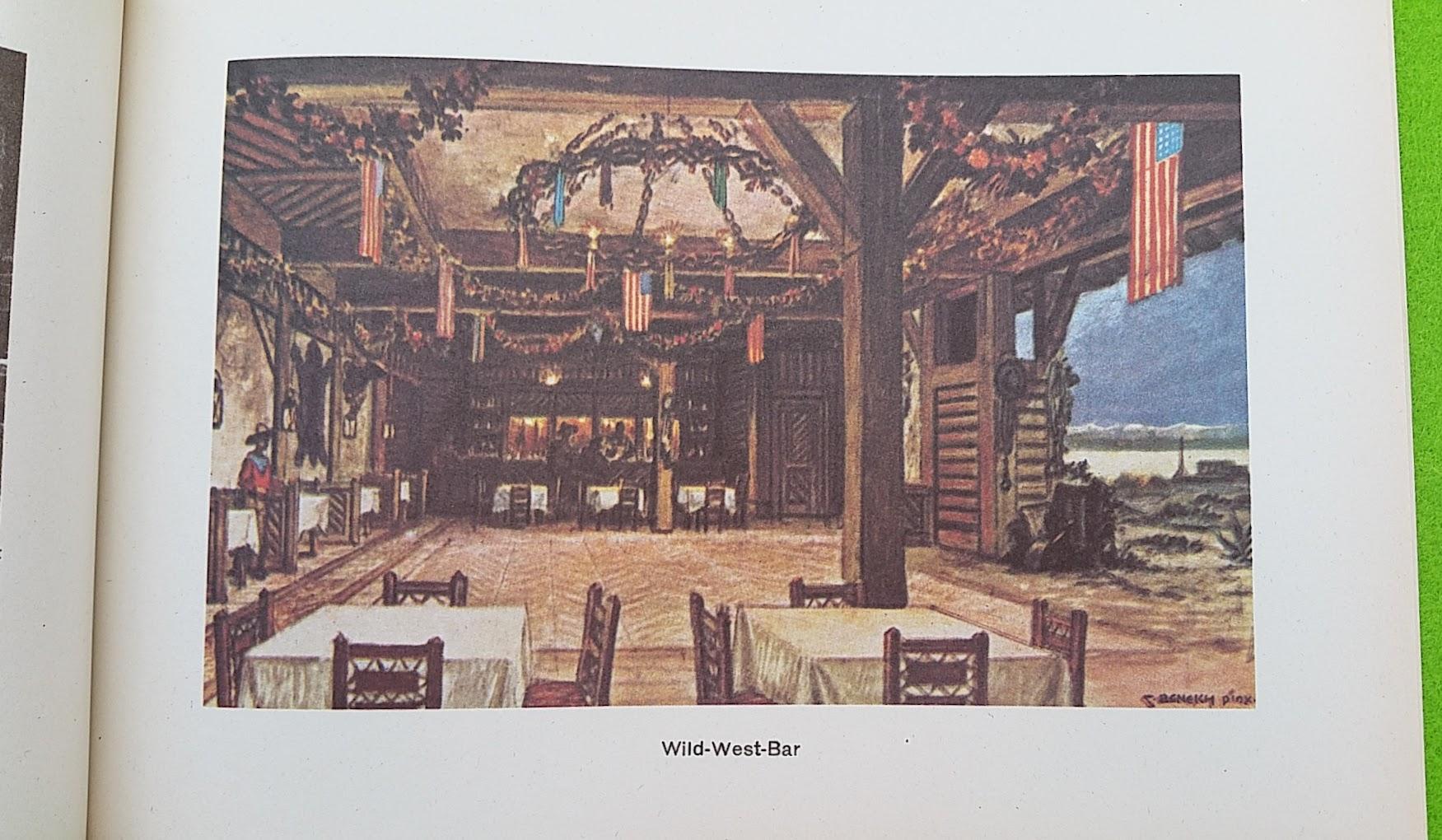 Begleitheft zur Eröffnung von Haus Vaterland am Potsdamer Platz, Berlin, 31. August 1928 - Wild-West-Bar