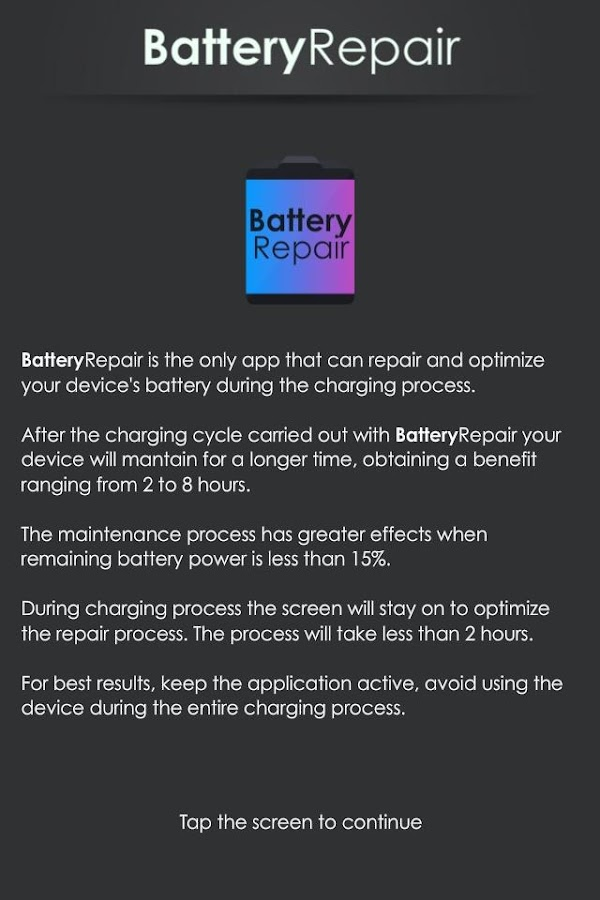 Battery Repair (Doctor Boost)- screenshot