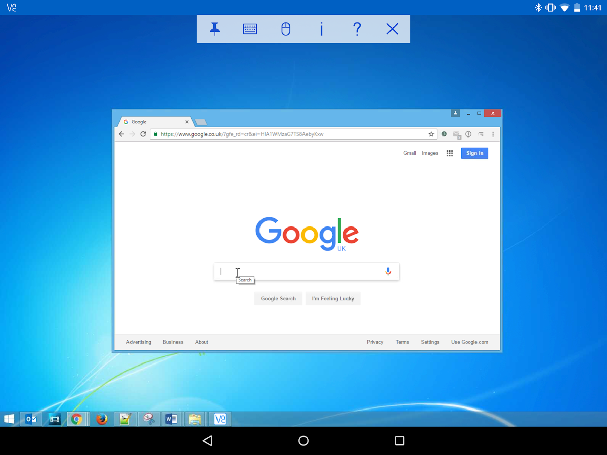 VNC Viewer - Remote Desktop- screenshot