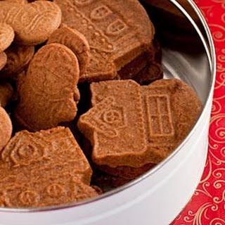 Speculaas (Molded Ginger Cookies).