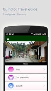 Quindío: Offline travel guide - náhled