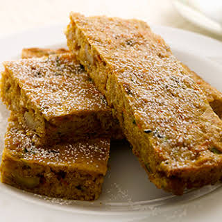 Spiced Apple, Carrot and Zucchini Bar.