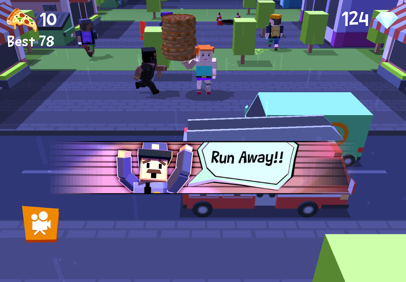 Pizza Street - Deliver pizza!- screenshot
