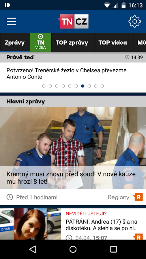 TN.cz- screenshot