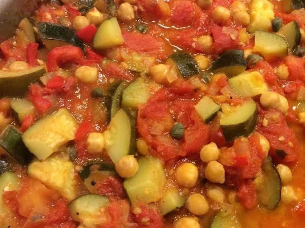 Elaine's Mediterranean Chickpea Stew