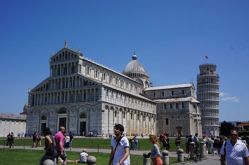 Duomo and Baptistry in Pisa, Italy (2015)