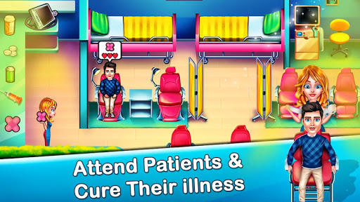 Code Triche Doctor Hospital Operation Time Management Game APK MOD screenshots 3