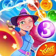 Download Game Bubble Witch 3 Saga [Mod: many lives] APK Mod Free