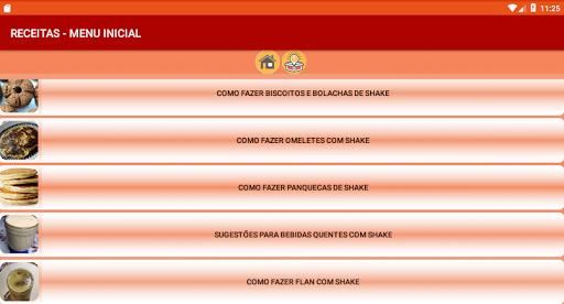 i-Shake - Receitas com Shake screenshot 6