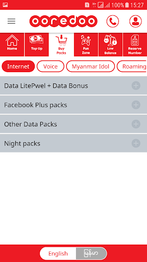 My Ooredoo 5.2.9 screenshots 2