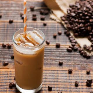Skinny Vanilla Iced Coffee.