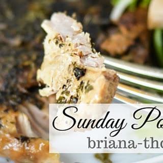 Sunday Pork Chops