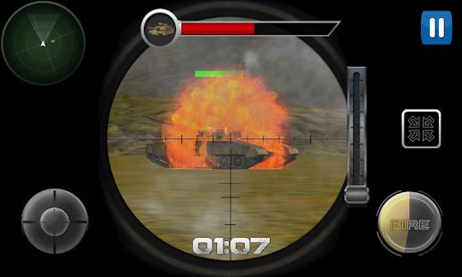 Modern Tank Striker 3D screenshot