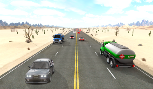 Desert Traffic Racer- screenshot thumbnail