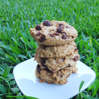 Raw Chocolate Chip Cookies (from scratch!)