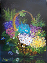 Photo: 19.Basket of Daisies. 18 x 24 oil on canvas. $399.00