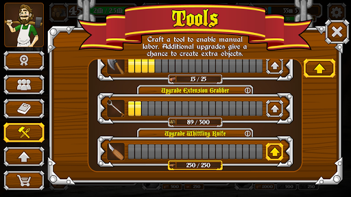Craftsmith - Idle Crafting Game apkpoly screenshots 4