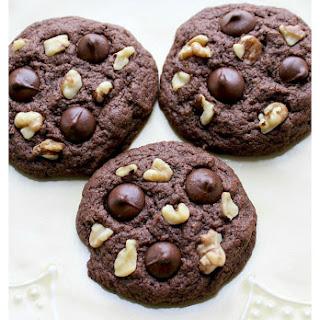 Gluten Free Walnut Chocolate Chip Cookies Recipe