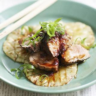 Teriyaki Pork With Pineapple