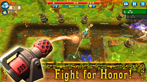 Code Triche Fantasy Realm TD: Tower Defense Game apk mod screenshots 3
