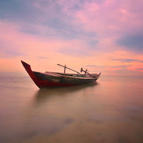 going to heaven by Arief Wardhana - Transportation Boats