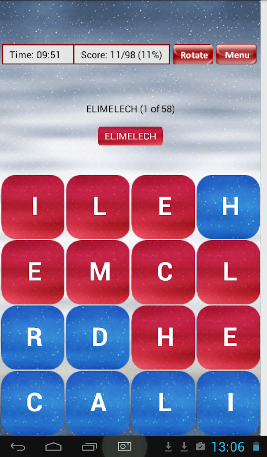 Bible Word Scramble- screenshot