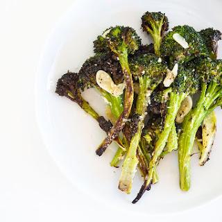 Oven Roasted Broccoli with Lemon & Parmesan