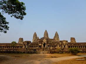 Photo: There are many temples in this area.  Angkor Wat is the greatest temple in the complex.  The empire was very powerful from the 9th-13th centuries and controlled half of Southeast Asia.