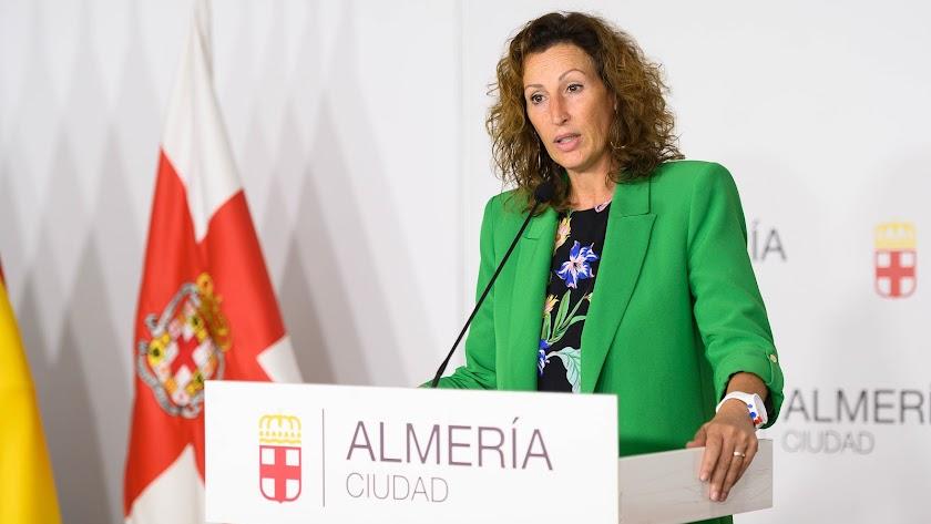 La portavoz del Equipo de Gobierno, María del Mar Vázquez