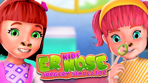Kids ER Nose Surgery Simulator app (apk) free download for Android/PC/Windows screenshot