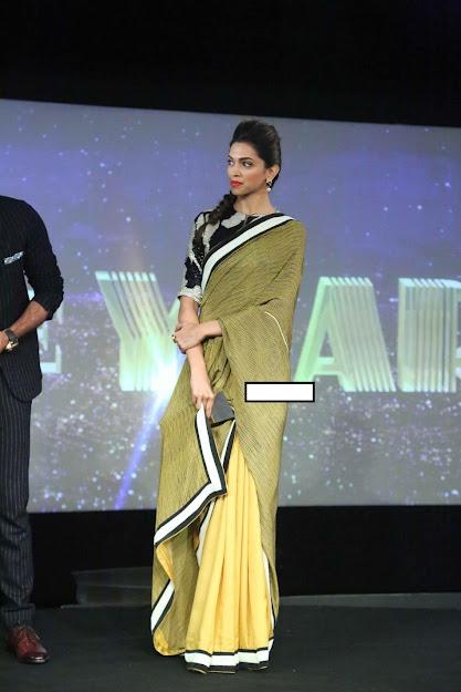 Deepika Padukone saree photos